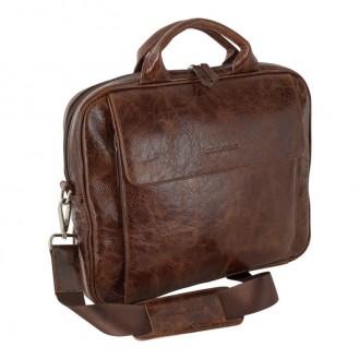 "Bouletta Bleep 007 Vessel Braun Notebook Macbook Tasche 13,3 """