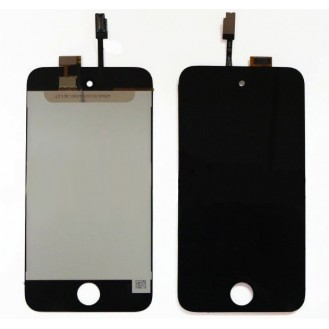 Schwarz LCD Display Touchscreen iPod Touch 4 4G