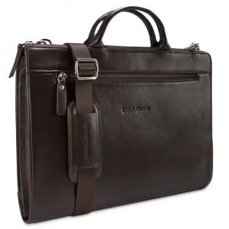 "Bouletta ""Canzo"" Braun Notebook Macbook Tasche 13,3 """