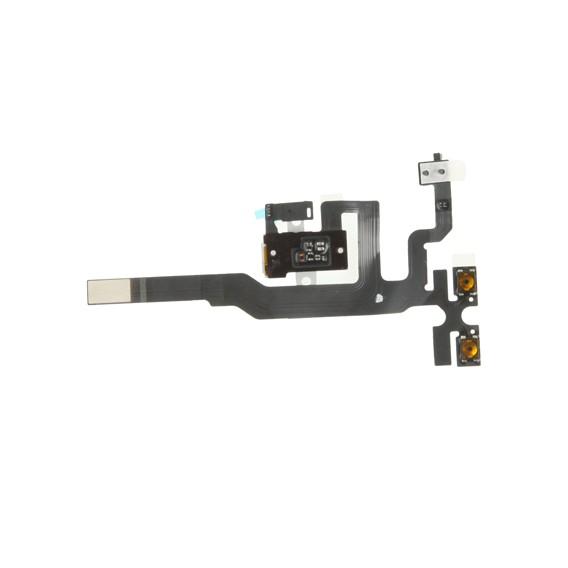 iPhone 4S Flexkabel Headphone mit Audio Jack Schwarz