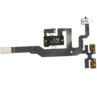 iPhone 4S Flexkabel Headphone mit Audio Jack Schwarz