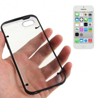More about Transparent Bumper Hülle Hard Case Schwarz iPhone 5C