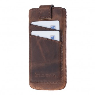 Bouletta Multicase CC Iphone 7 Ledertasche Hülle mit Kartenfächern