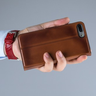 Bouletta Echt Leder Magic Wallet iPhone 7 Plus