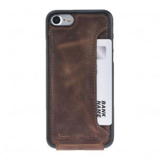 Bouletta Echt Leder Slip Flip Case iPhone 7