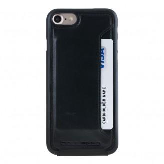 Bouletta Echt Leder Slip Flip Case iPhone SE 2020, 8, 7