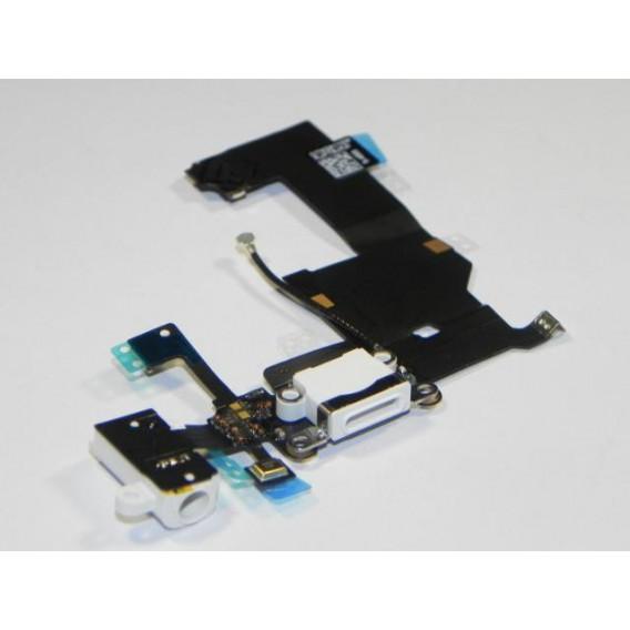 iPhone 5 Ladebuchse und Kopfhörerbuchse / Audio Flex Weiss