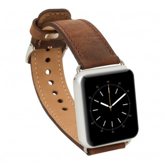 Bouletta ECHT LEDER Apple Watch 42mm Serie 1/2 Armband