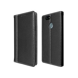 Schwarz Book Tasche Huawei Nova