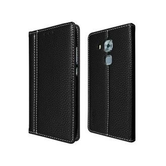 Schwarz Book Tasche Huawei Nova Plus