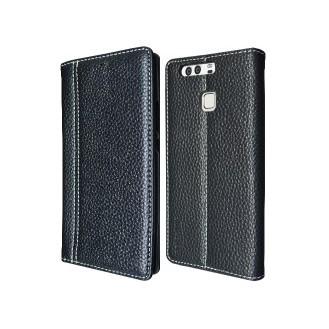Schwarz Book Tasche Huawei P9