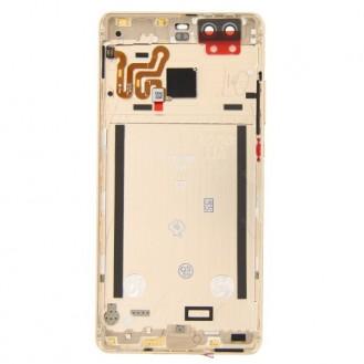 Huawei P9 Akkudeckel mit Rahmen Gold