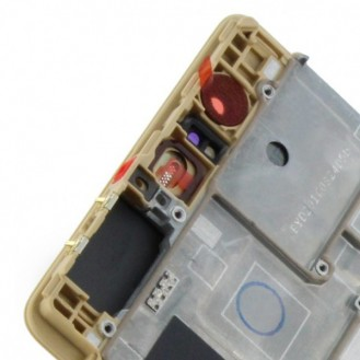 Huawei Ascend P9 LCD Display Touchscreen mit Rahmen Gold