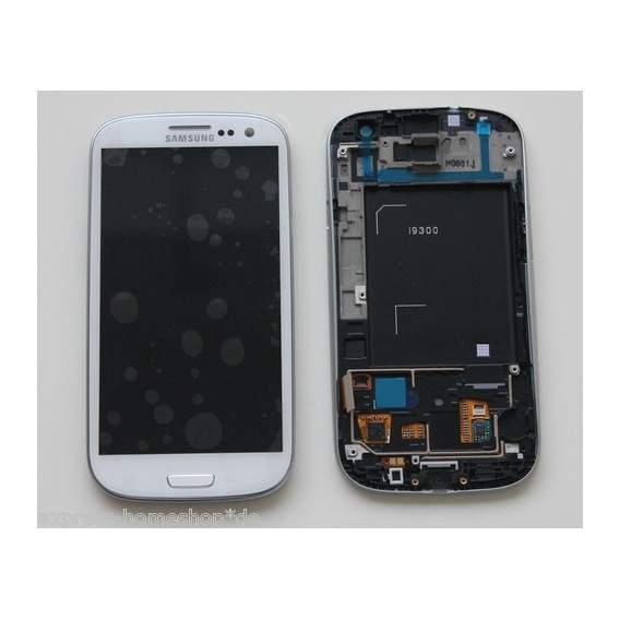 Samsung Galaxy S3 i9300 Display LCD Touchscreen Weiss