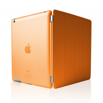 iPad 2 3 4 Smart Cover Case Schutz Hülle Orange