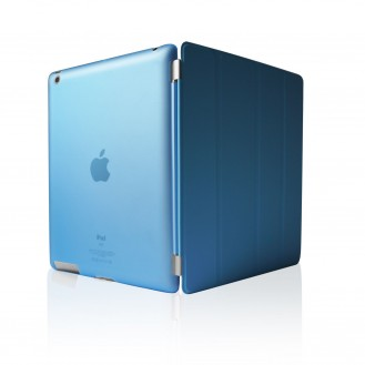 iPad 2 3 4 Smart Cover Case Schutz Hülle Blau
