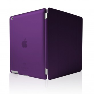 iPad 2 3 4 Smart Cover Case Schutz Violett