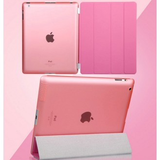iPad 2 3 4 Smart Cover Case Schutz Rosa
