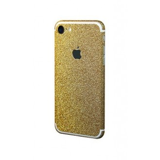 iphone 7 Gold Bling Aufkleber Schutz-Folie Sticker Skin
