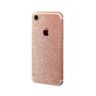 iphone 7 Rosegold Bling Aufkleber Schutz-Folie Sticker Skin