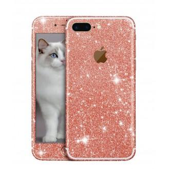 iphone 7 Plus Rosegold Bling Aufkleber Schutz-Folie Sticker Skin