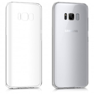 Silikon Transparent Hülle Galaxy S8 Plus