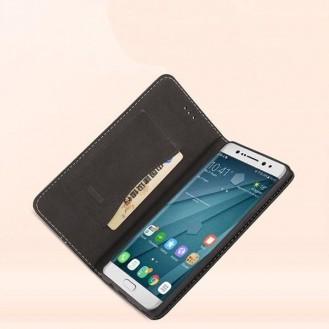 Rosa Gold Edel Leder Etui Galaxy S8 Plus